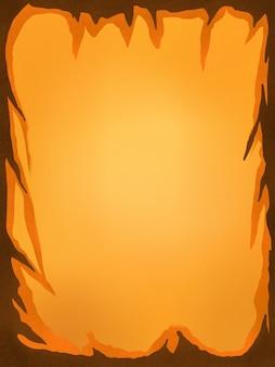 Illustration fond d'écran jaune premium