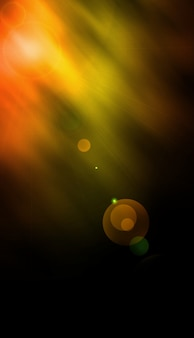 Illustration de fond jaune