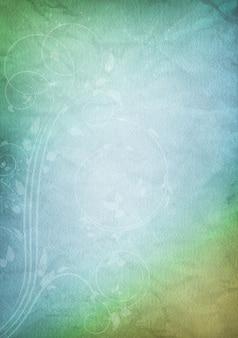 Illustration d'un fond de papier de style vintage utilisant des couleurs pastel
