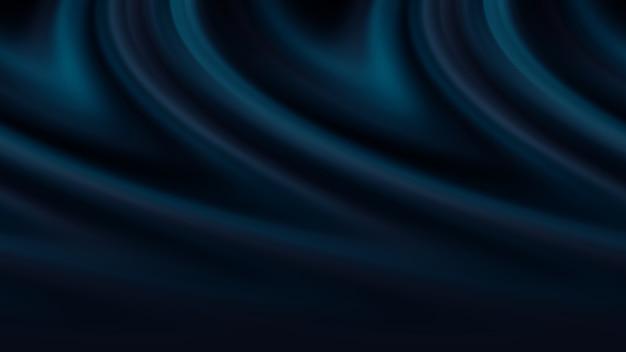 Illustration de fond satin bleu