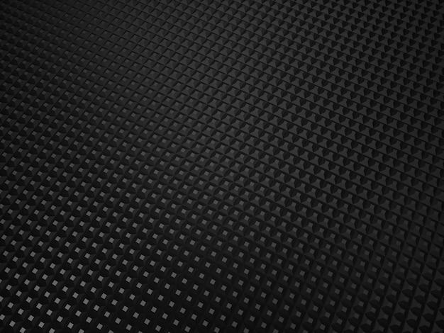 Illustration de fond texturé métallique noir avec des points