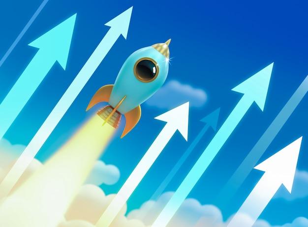 Illustration de fusée