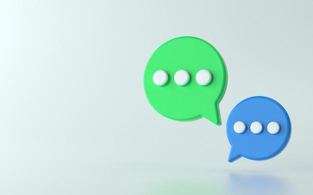 Illustration d'icône de chat 3d