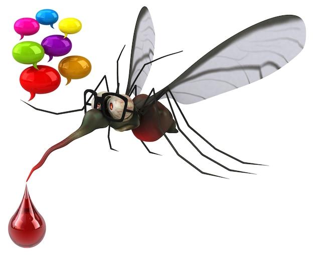 Illustration de moustique