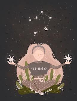 Illustration de signe du zodiaque.