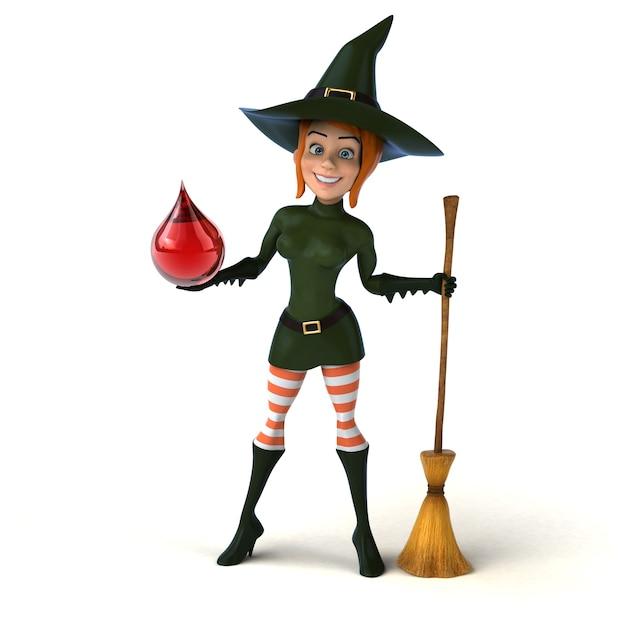 Illustration de sorcière