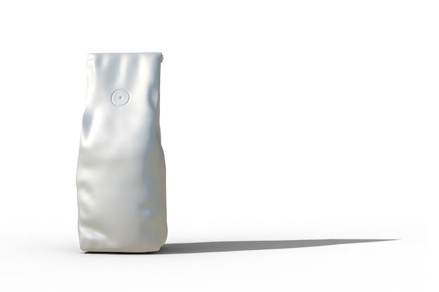 Image 3d d'emballage de thé pour la maquette
