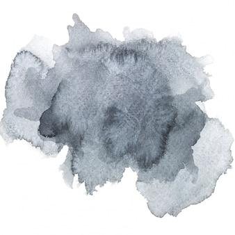 Image aquarelle.brosse gris