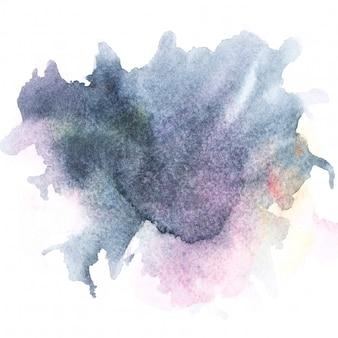 Image aquarelle.brosse grise