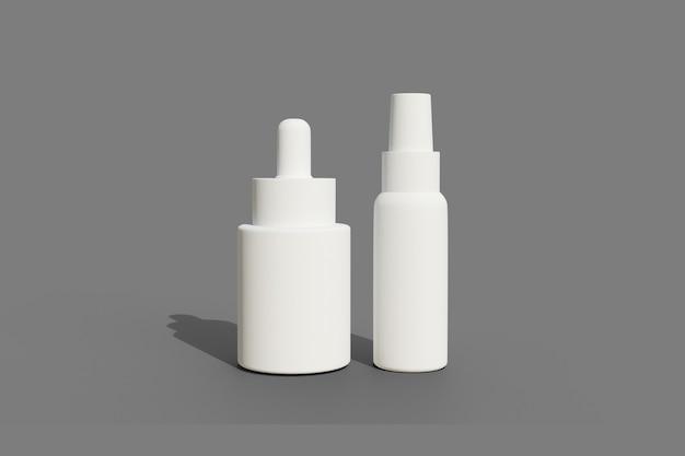 Image blanche de produit 3d pour la conception de maquette
