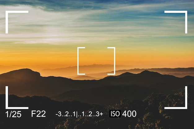 Image de capture d'écran de capture d'appareil photo