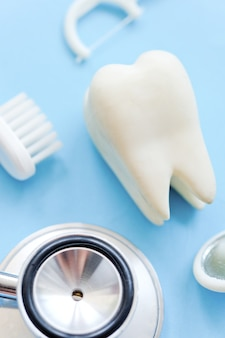 Image conceptuelle de la dentisterie