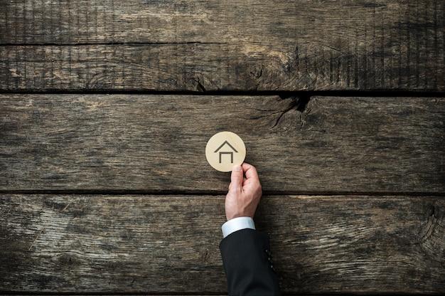 Image conceptuelle du marché immobilier