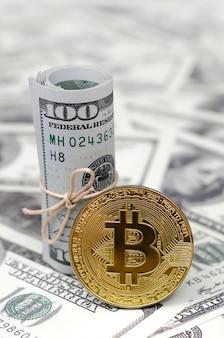 Image conceptuelle du système de paiement global blockchain par crypto-monnaie