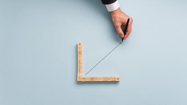Image conceptuelle de l'économie et des finances