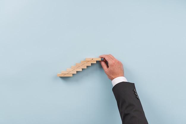 Image conceptuelle de la vision et du démarrage d'une entreprise