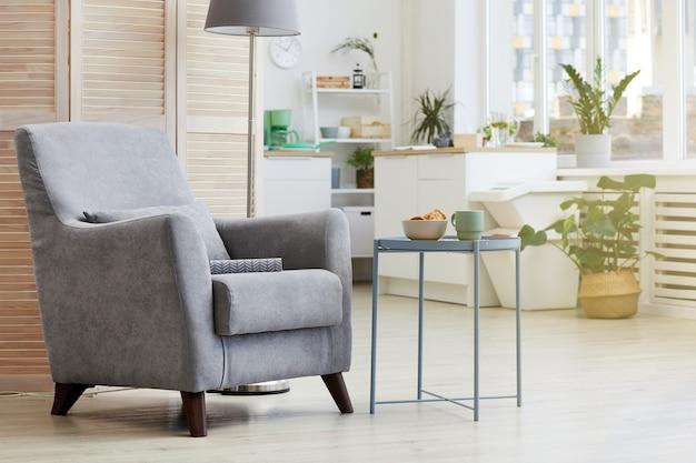 Image de confortable fauteuil moderne dans le salon à la maison
