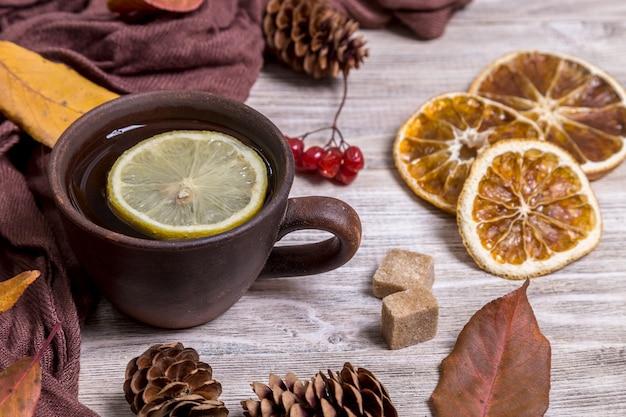 Image avec du thé.