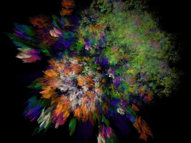 Image de fond fractal imaginatoire