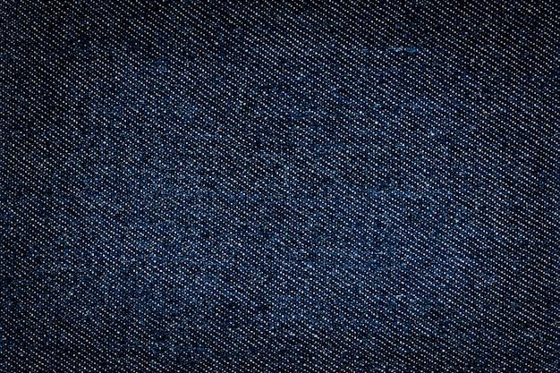 Image plein cadre d'arrière-plans en tissu denim bleu