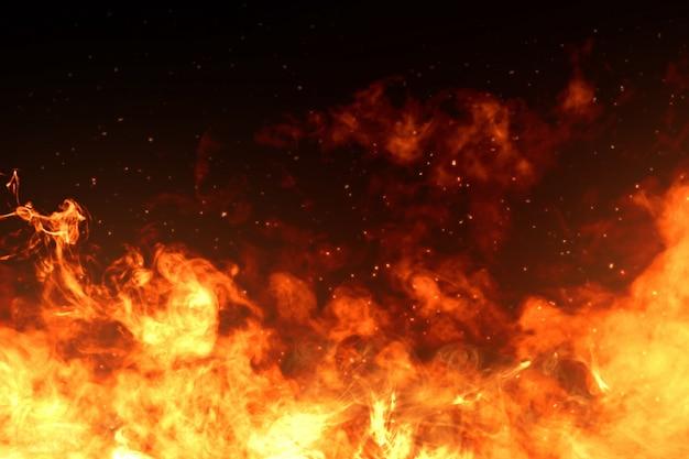 Images de flammes de feu