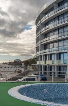 Immeuble en bord de mer à odessa, ukraine