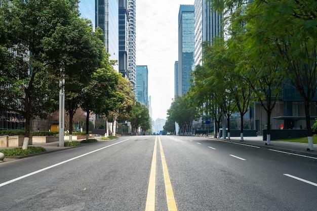 Immeuble de bureaux de l'autoroute et du centre financier à chongqing, chine