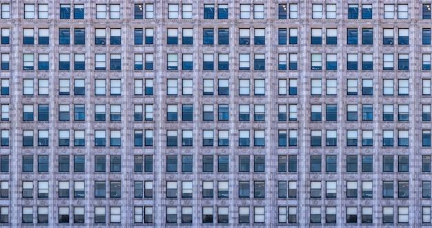 Immeuble de bureaux en façade