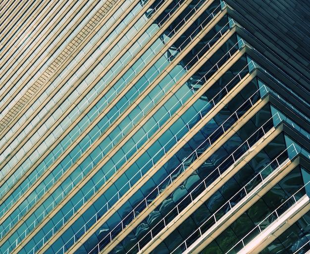 Immeuble de bureaux futuriste