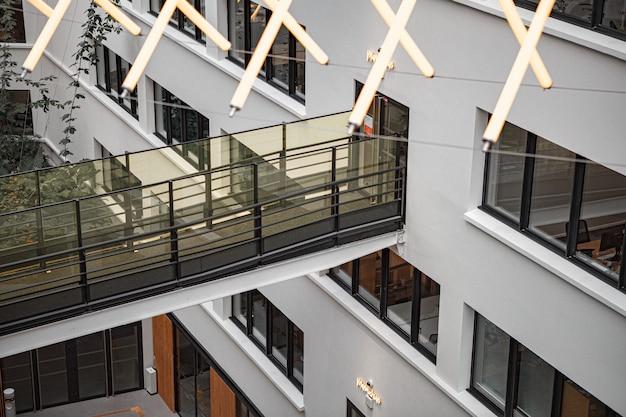 Immeuble moderne en béton