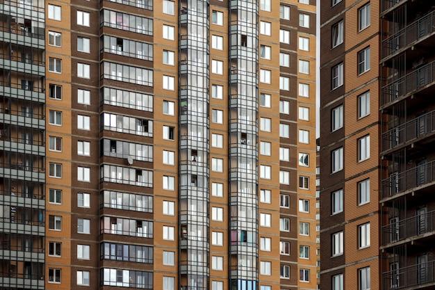 Immeuble résidentiel à plusieurs étages