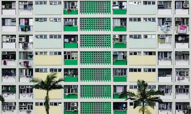 Immeuble résidentiel ville urbain