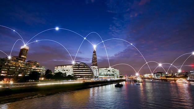 Immeubles de bureaux londoniens
