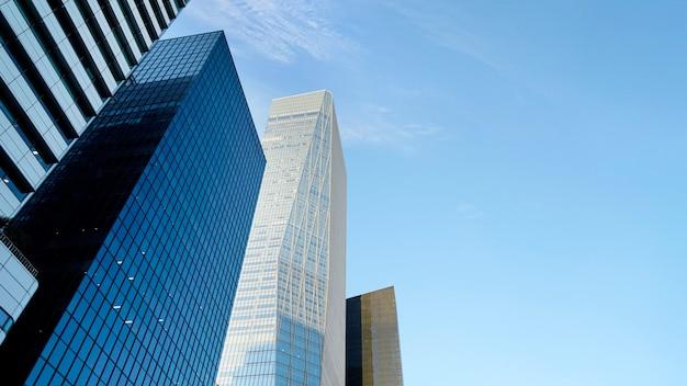 Immeubles de grande hauteur dans le centre-ville,