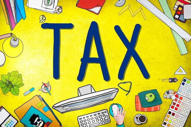 Impôt taxation remboursement retour exonération revenu concept