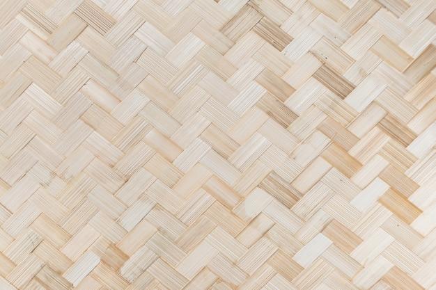 Impression de fond en bambou