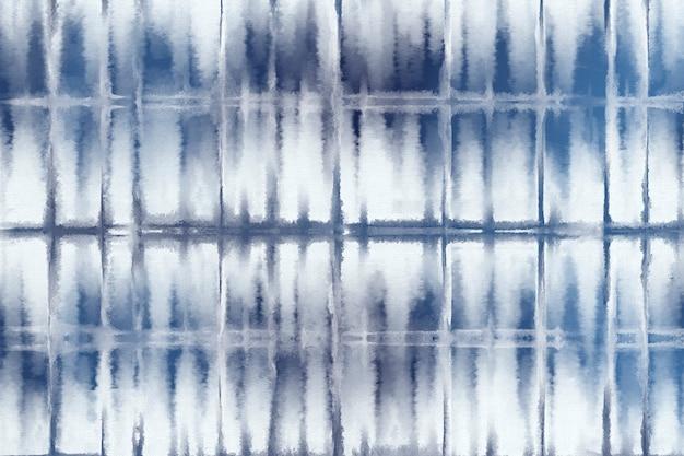 Impression de fond shibori de couleur bleu indigo
