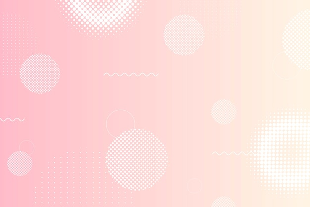 Impression de fond de style memphis rose