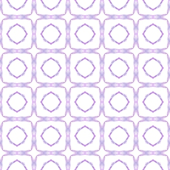 Impression imaginative prête pour le textile, tissu de maillot de bain, papier peint, emballage. design d'été boho chic étonnant violet. modèle sans couture tropical. bordure transparente tropicale dessinée à la main.