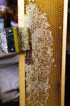 Impression des nids d'abeilles, outil pour ouvrir les nids d'abeilles