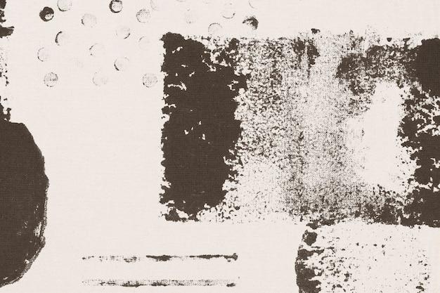 Impressions de bloc de fond beige motif memphis