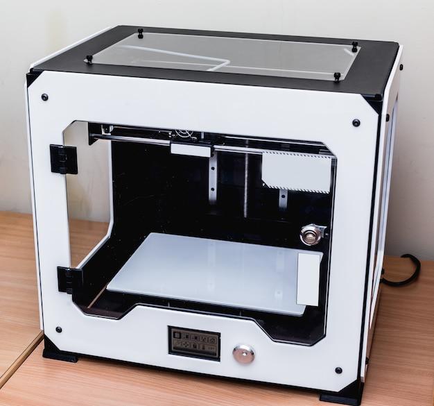 Imprimante 3d en plastique professionnelle moderne