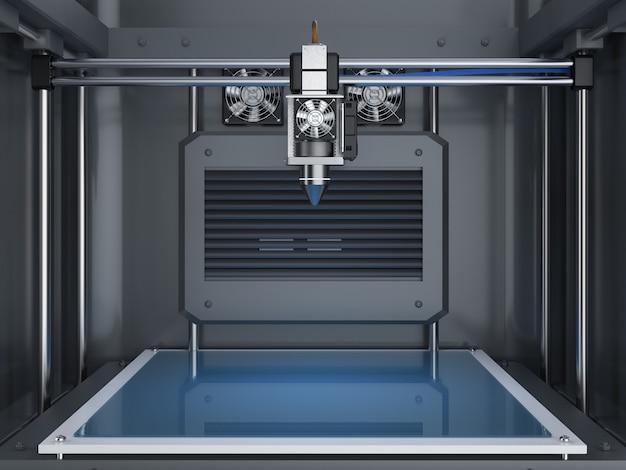 Imprimante 3d de rendu 3d avec buse d'injecteur