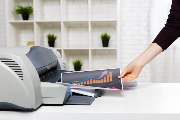Imprimante au bureau