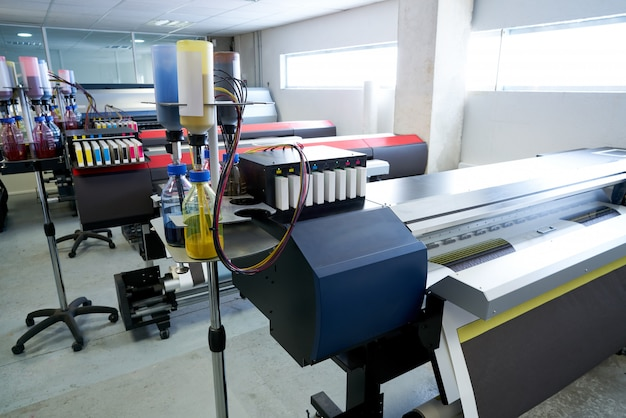 Imprimerie papier de transfert pour industrie textile