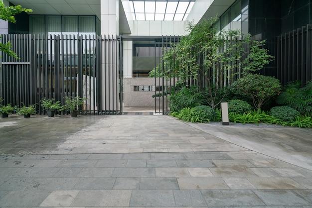 Inancial center plaza et immeuble de bureaux