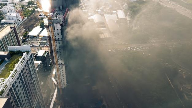 Incendie dans un immeuble de grande hauteur