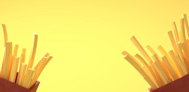 Incendies français sur jaune