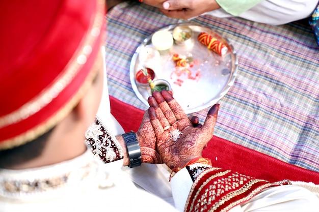 Incroyable cérémonie de mariage hindou