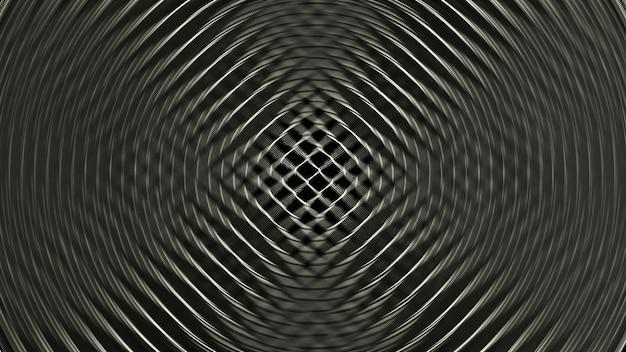 Incroyable fond abstrait spirale noir et blanc